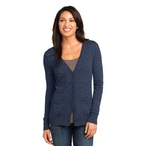 District Made® Ladies Cardigan Sweater