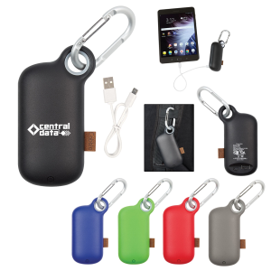 UL Listed Carabiner Power Bank 5,000 mAh